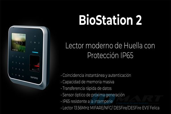 suprema Biostation 2